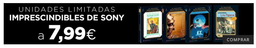 El Corte Inglés -Imprescindibles de Sony