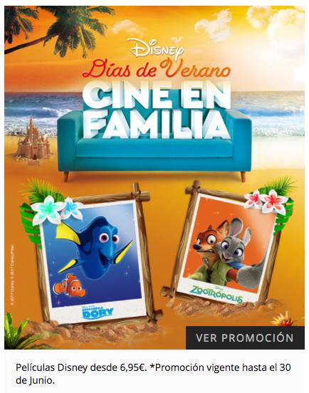 El Corte Inglés - Películas Disney a 6,95 €
